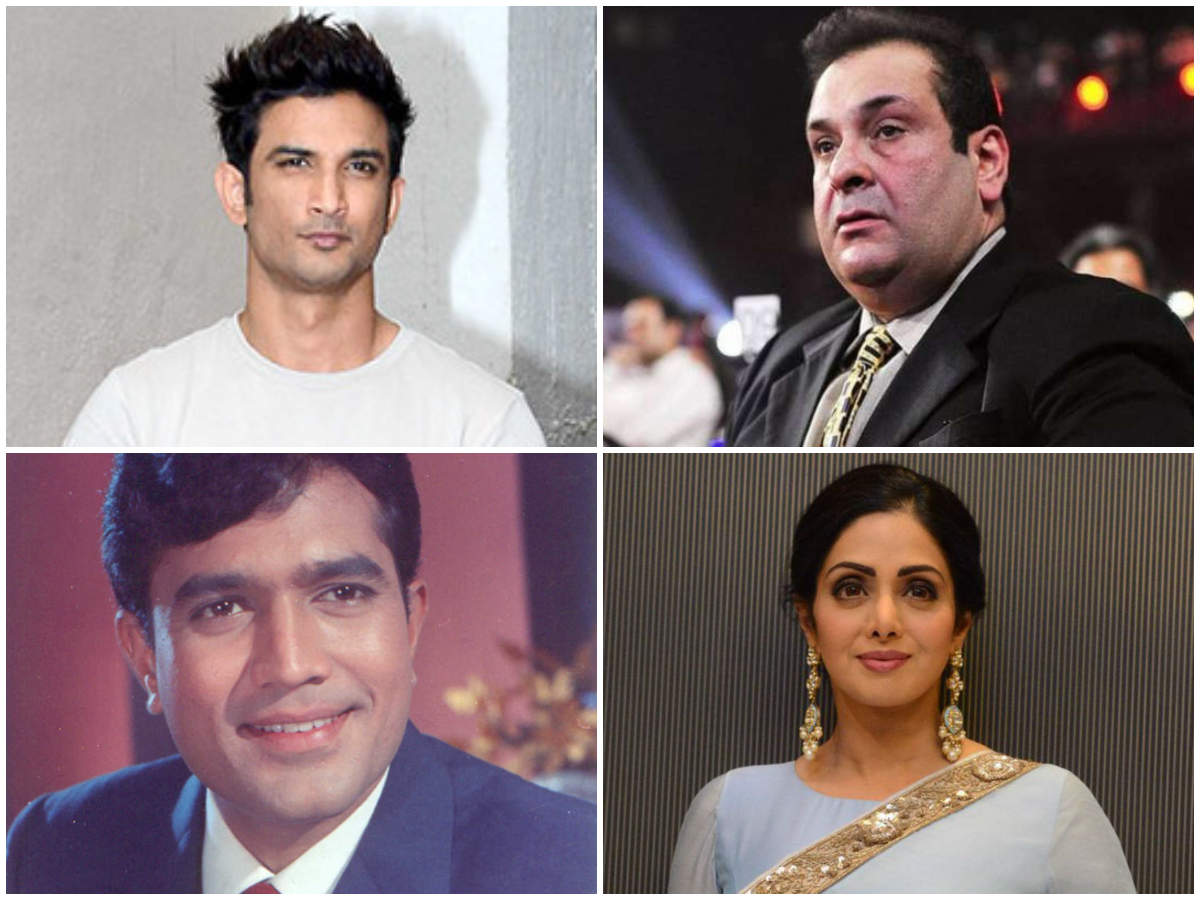 Rajiv Kapoor, Sushant Singh Rajput, Rajesh Khanna: Actors who passed away before the release of their last film  | The Times of India