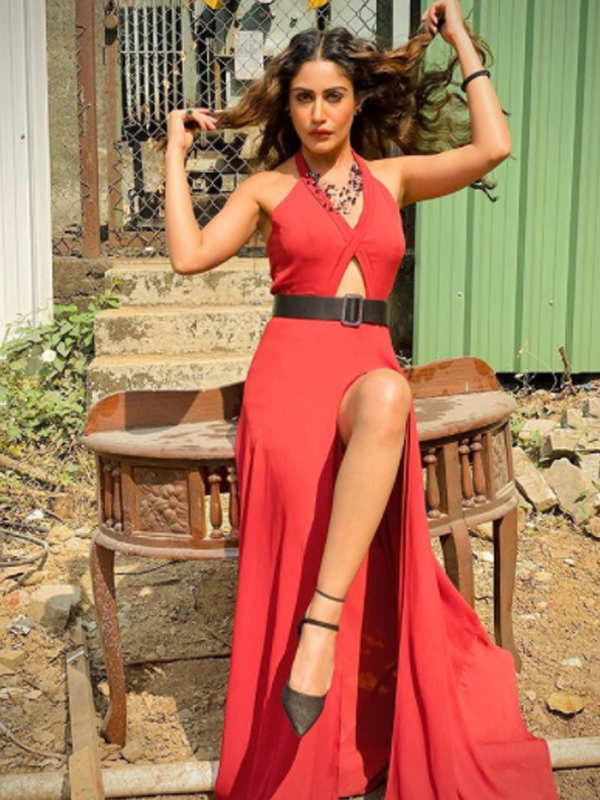 Surbhi Chandna ups the glam quotient with her alluring pictures