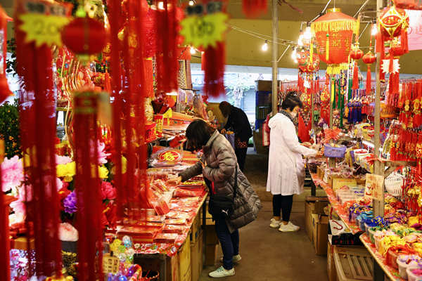Preparations in full swing for Lunar New Year celebrations