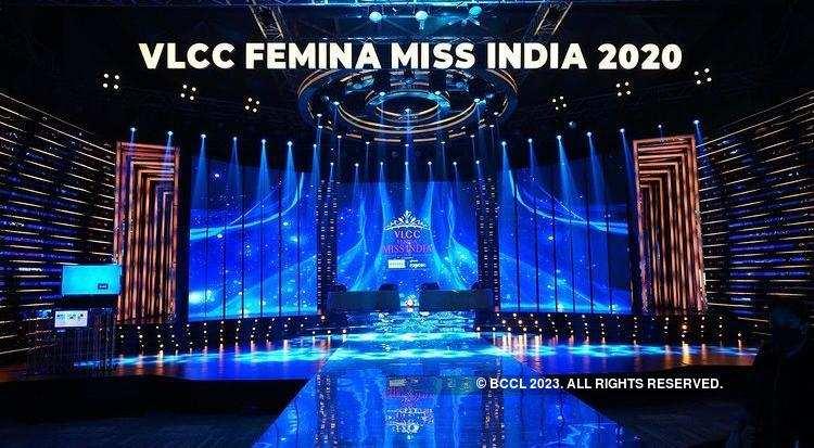 BTS Of VLCC Femina Miss India 2020 Grand Finale