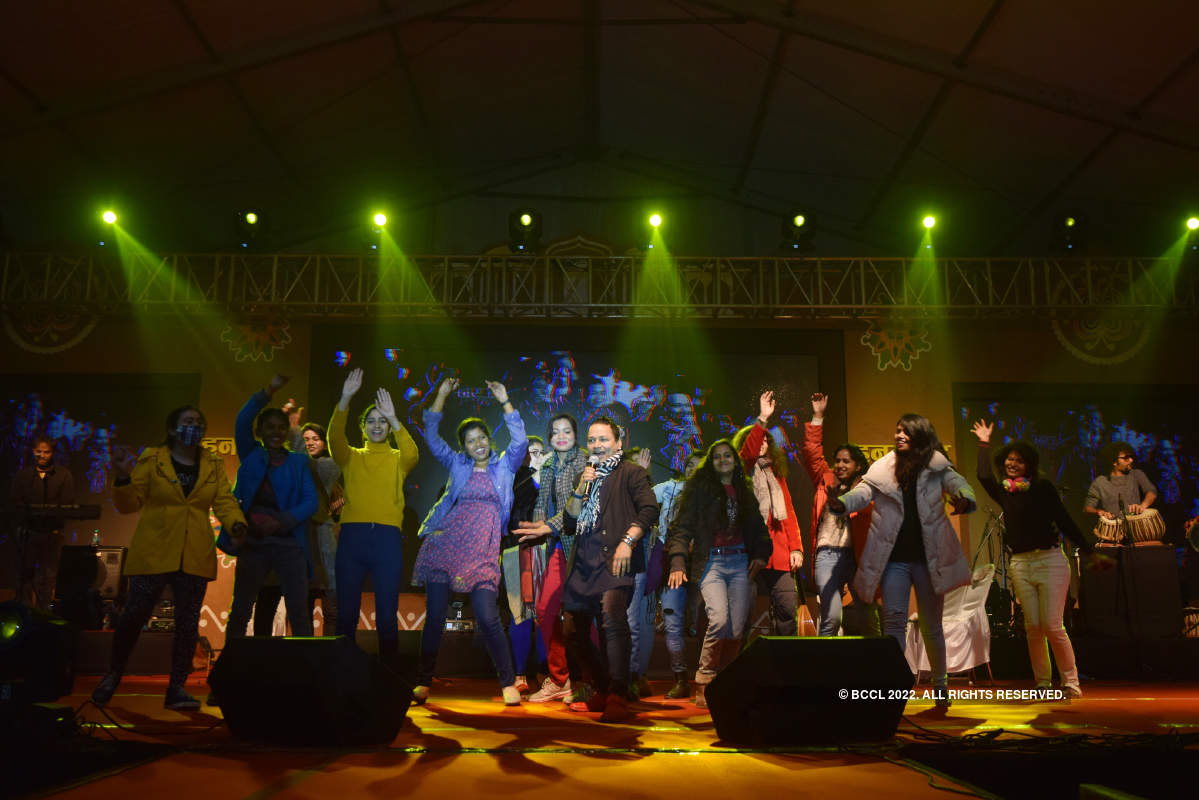 Kailash Kher regales Lucknowites with his live performance