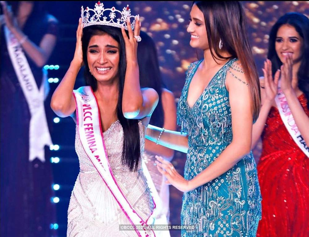 Manya Singh - VLCC Femina Miss India 2020 - Runner Up: Crowning Moment