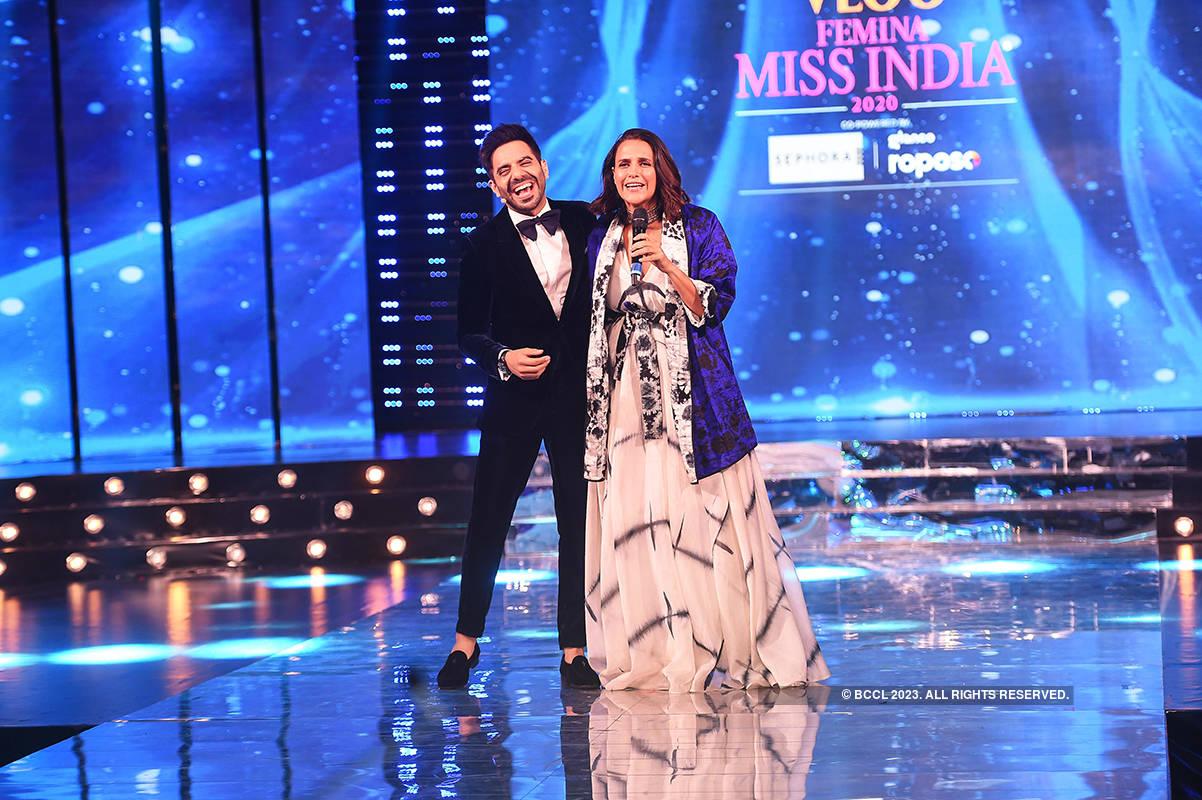 VLCC Femina Miss India 2020: Candid Pictures