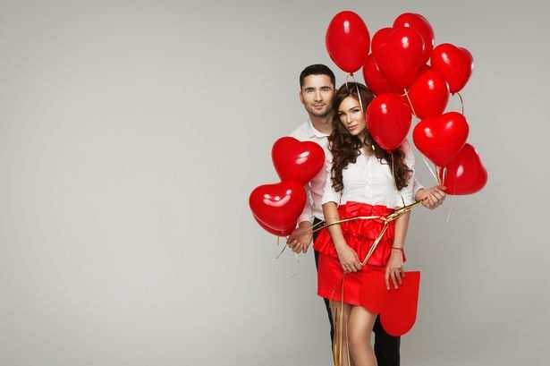Couple de la Saint-Valentin