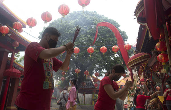 Lunar New Year celebrated amid pandemic