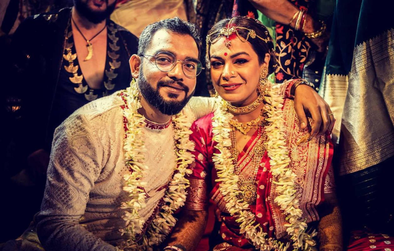 Inside pictures from Nilanjan Ghosh and Iman Chakraborty's dreamy wedding