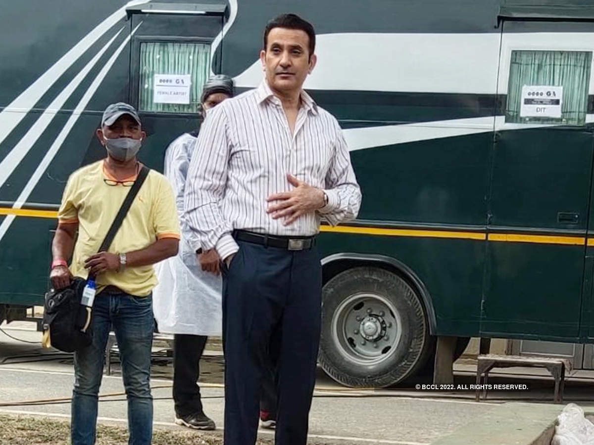 Parmeet Sethi plays former RAW head RN Kao in the film (BCCL/ Aditya Yadav)