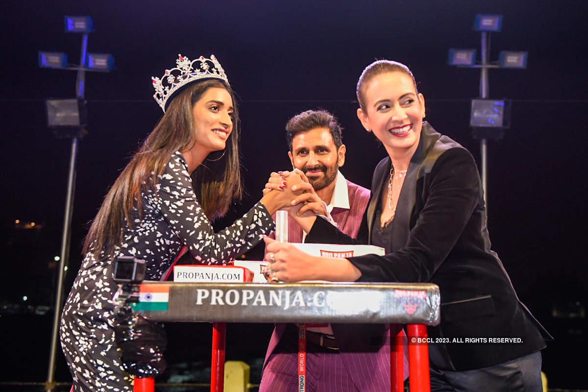 VLCC Femina Miss India 2020 winners attend Pro-Panja League Tournament