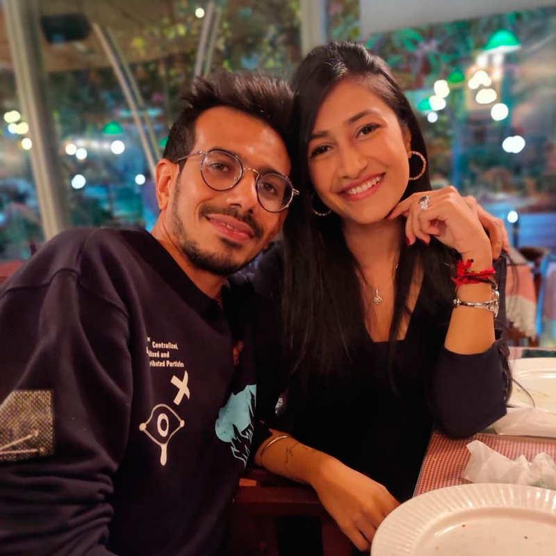 Romantic pictures of Yuzvendra Chahal and Dhanashree Verma go viral on social media