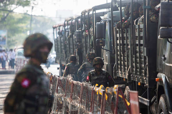 Myanmar: Army deploys more troops to crush anti-coup protests