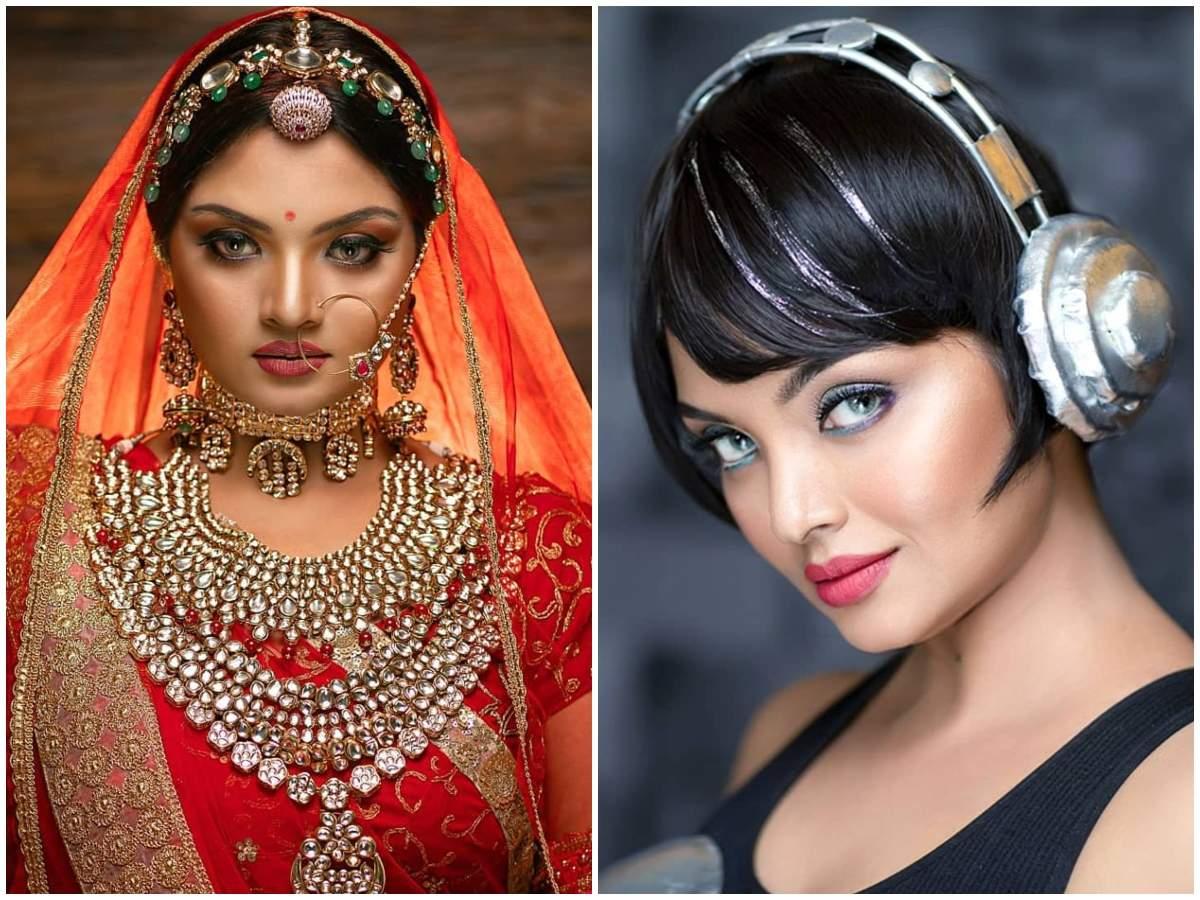 Bigg Boss Malayalam's Soorya Menon looks uncannily similar to Bollywood diva Aishwarya Rai in these pics; see to believe it