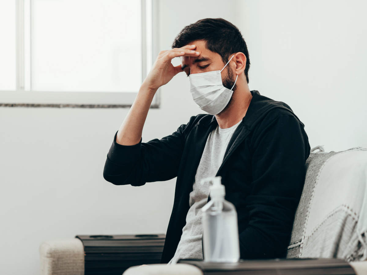 Coronavirus prevention: Humidity inside the mask can lessen the severity of the coronavirus - Times of India