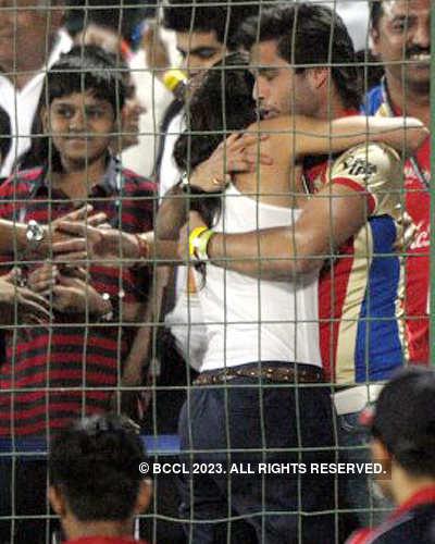 Sidhartha, Deepika @ IPL after match party