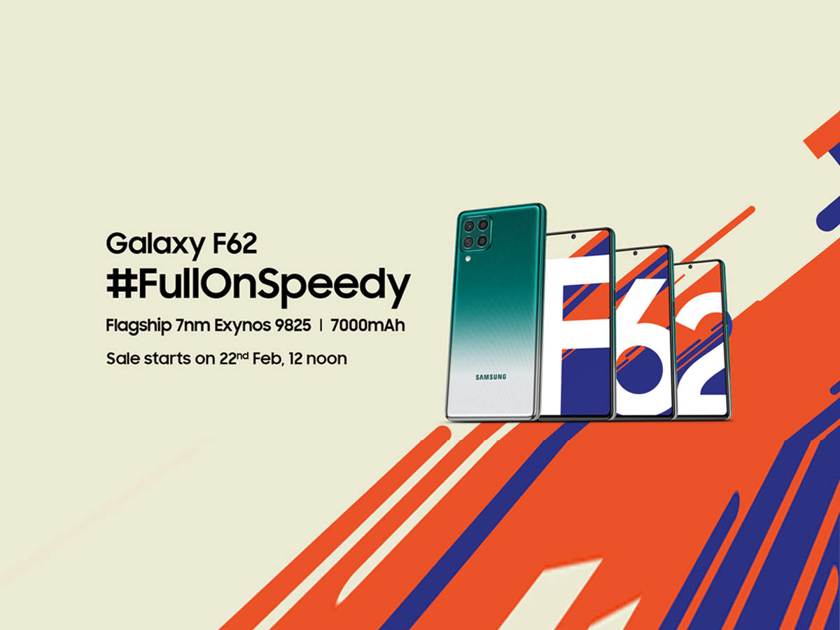 Watch life go #FullOnSpeedy with the Galaxy F62