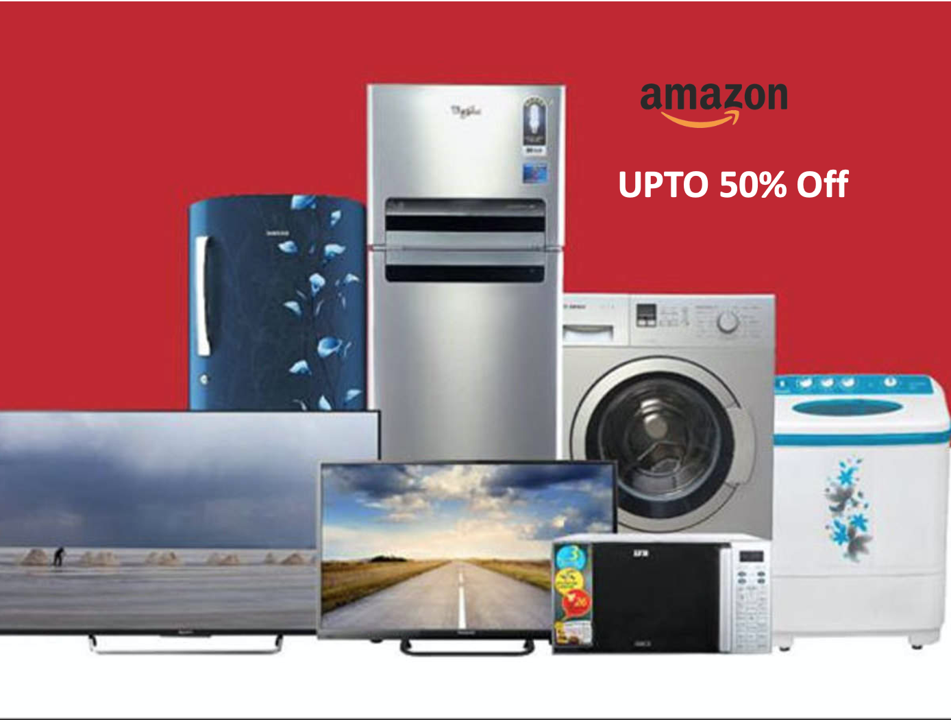 Amazon sale, Upto 50% Off on Electronics & more