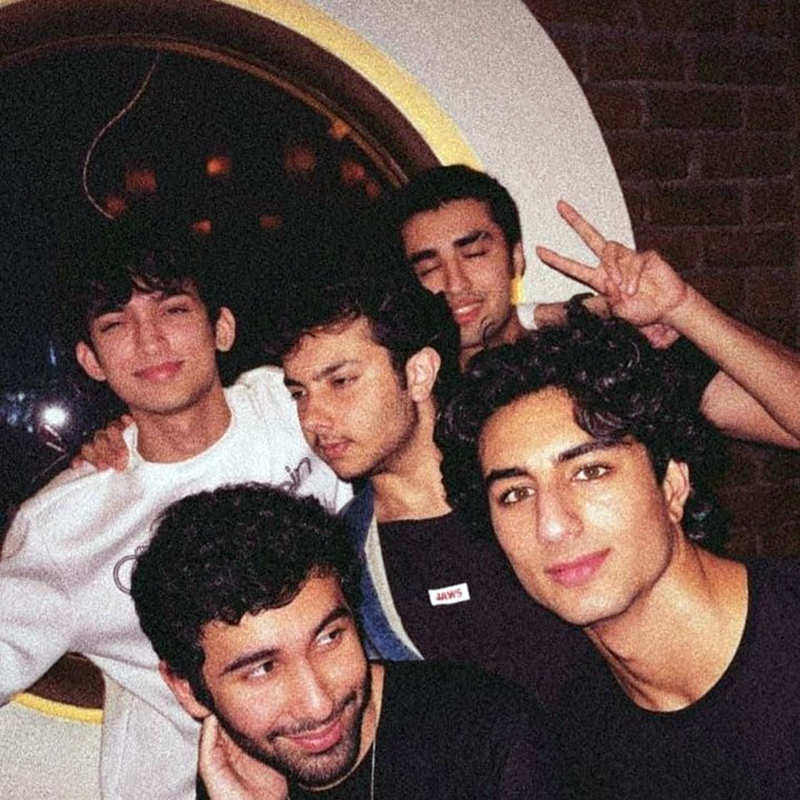 Fun-filled party pictures of Saif Ali Khan's handsome son Ibrahim Ali Khan go viral