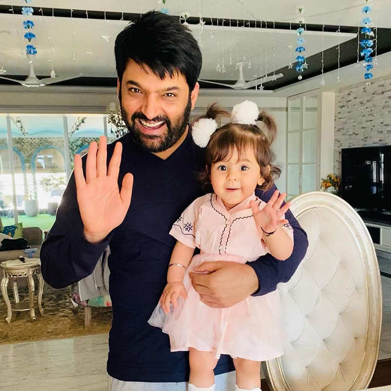 This adorable picture of Kapil Sharma with his little daughter is too cute to miss!