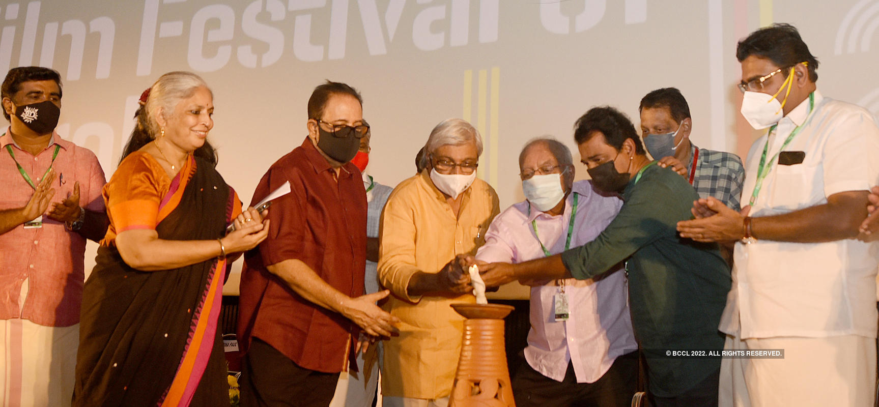 Celebs attend the 25th International Film Festival of Kerala