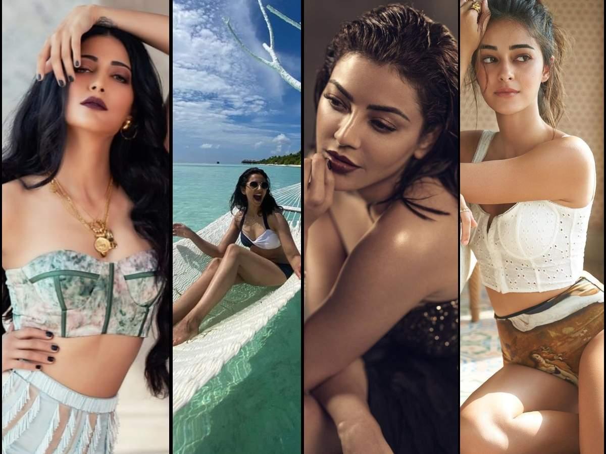 Pics of the Week: Kajal Aggarwal's bronze makeup to Rakul Preet Singh's bikini    The Times of India
