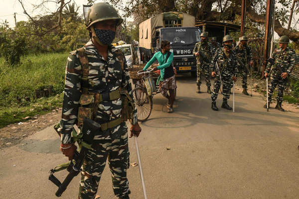 Paramilitary forces deployed in West Bengal