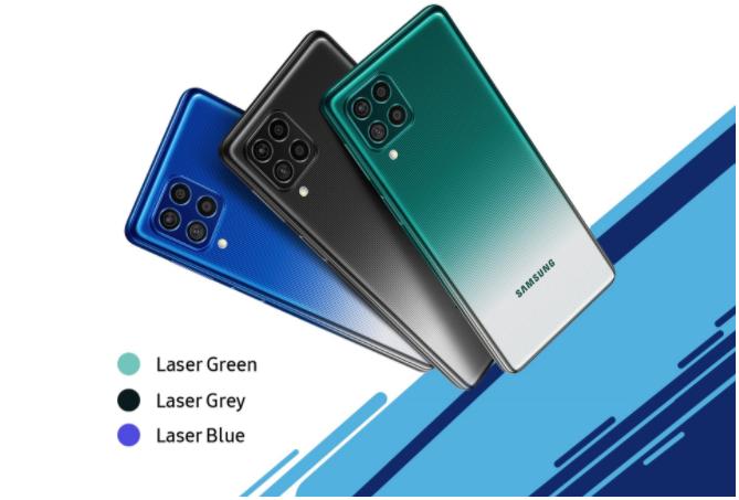 ¡Samsung Galaxy F62 con procesador Flagship 7nm Exynos 9825 y primer 7000mAh a la venta!