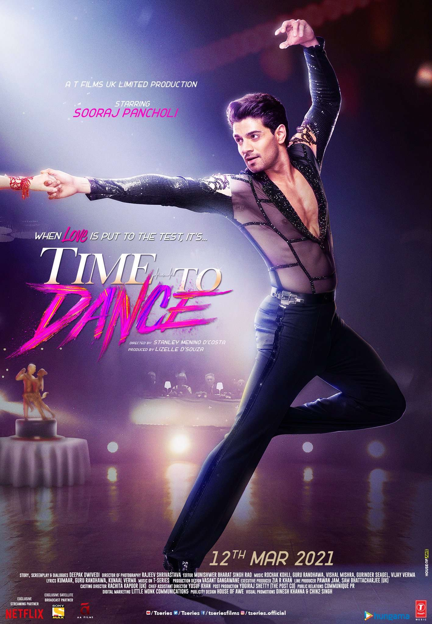 Time To Dance': The Sooraj Pancholi and Isabelle Kaif starrer to release on  March 12, 2021 | Hindi Movie News - Times of India