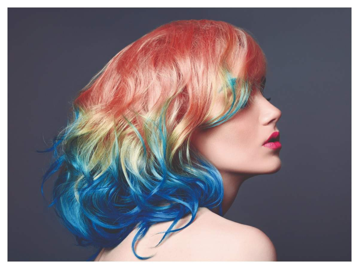 Rainbow hair (iStock)