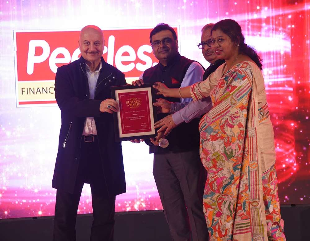 Peerless Financial Products Distribution Ltd award pic