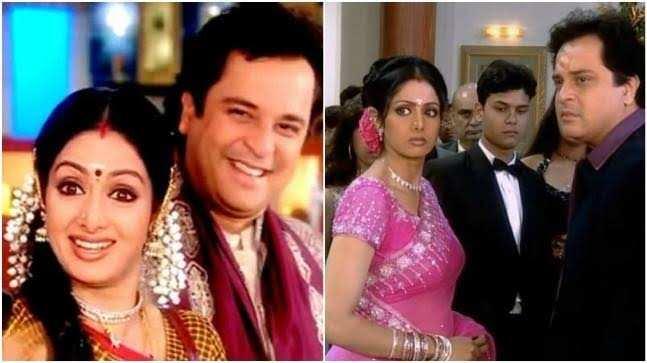 Still of Mahesh Thakur and Sridevi from the show Malini Iyer