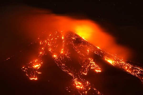 Mount Etna's eruptions leave volcanologists in awe