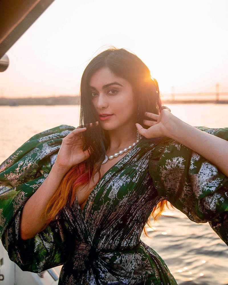 Adah Sharma teases fans with her captivating photoshoots