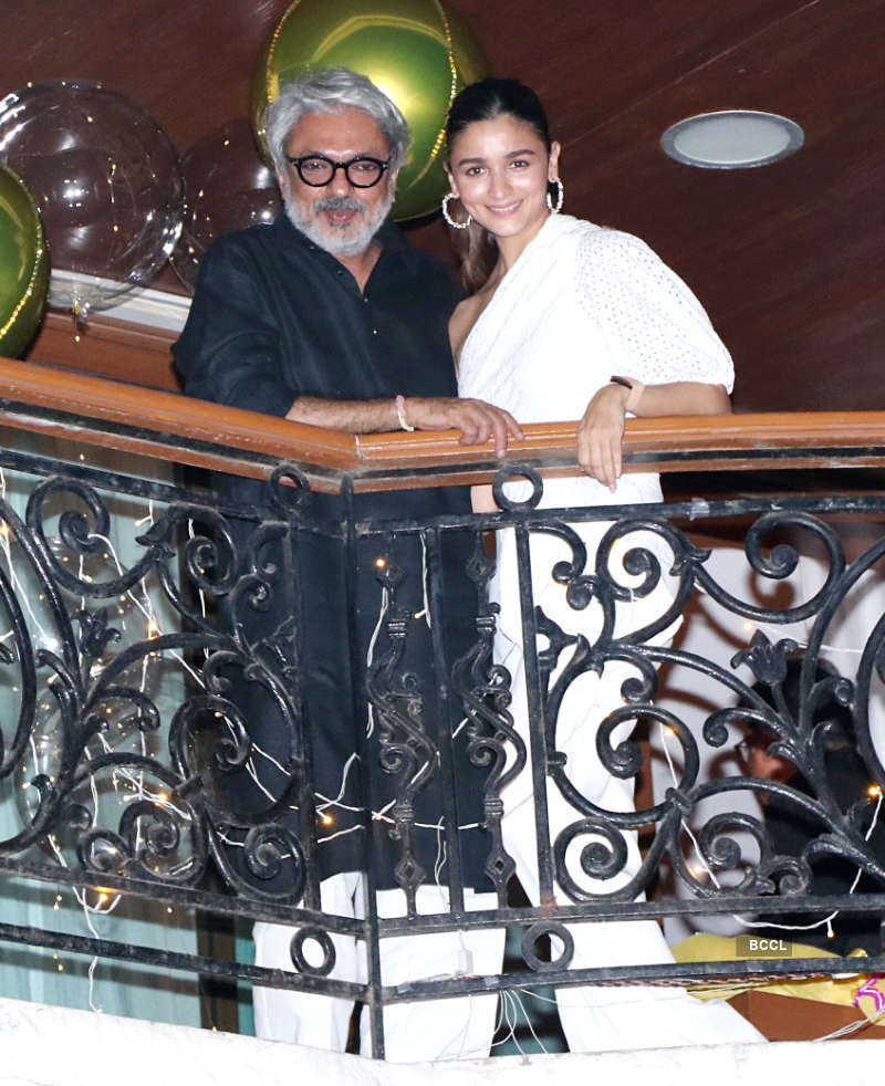 Inside pictures from Sanjay Leela Bhansali's birthday party
