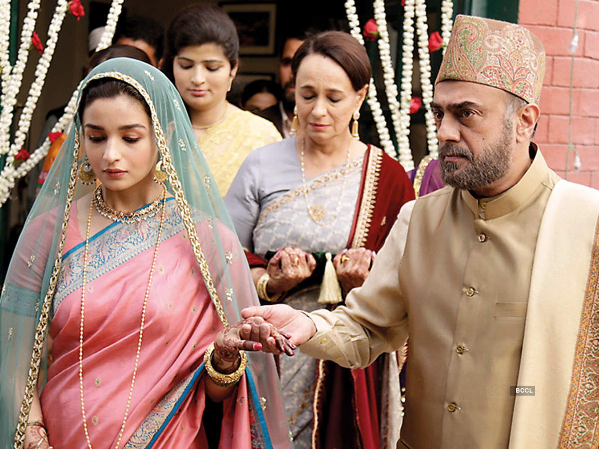 In a scene from Raazi with Alia Bhatt, his onscreen daughter (BCCL)