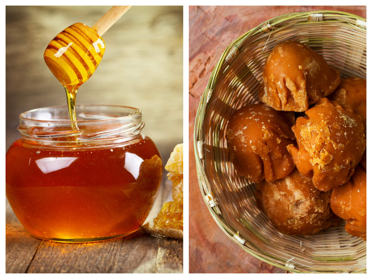 Which is healthier honey or jaggery?