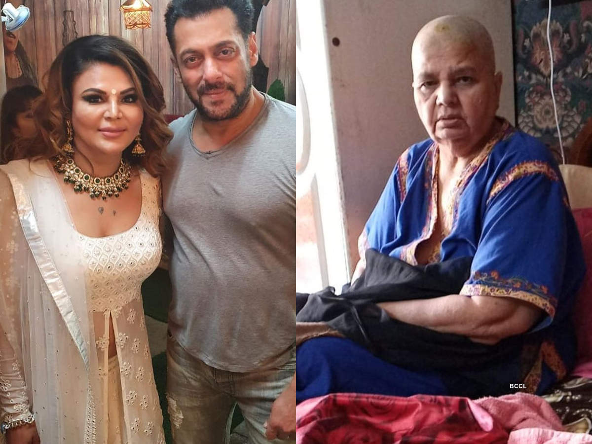 Rakhi Sawant thanks Salman Khan for lending a helping hand for her ailing mom; says 'I am in shock after coming out of Bigg Boss 14 house' - Times of India