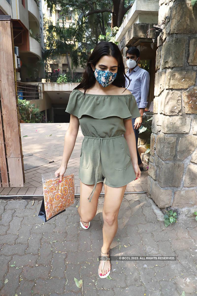 Sara Ali Khan is making heads turn in a stylish romper