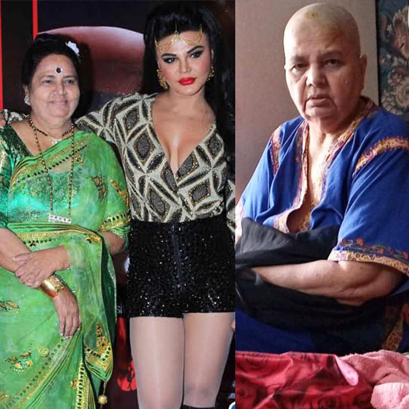 Viral pictures of Rakhi Sawant with her ailing mommy from hospital
