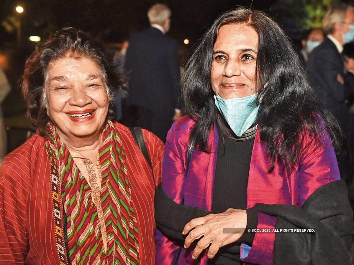 Aruna Vasudev et Yashodara Dalmia