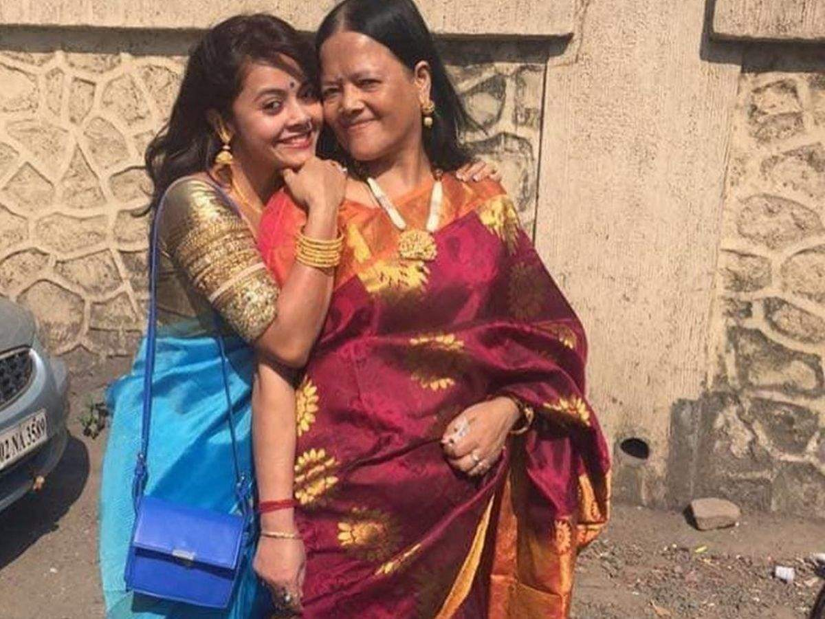 Devoleena with her mom