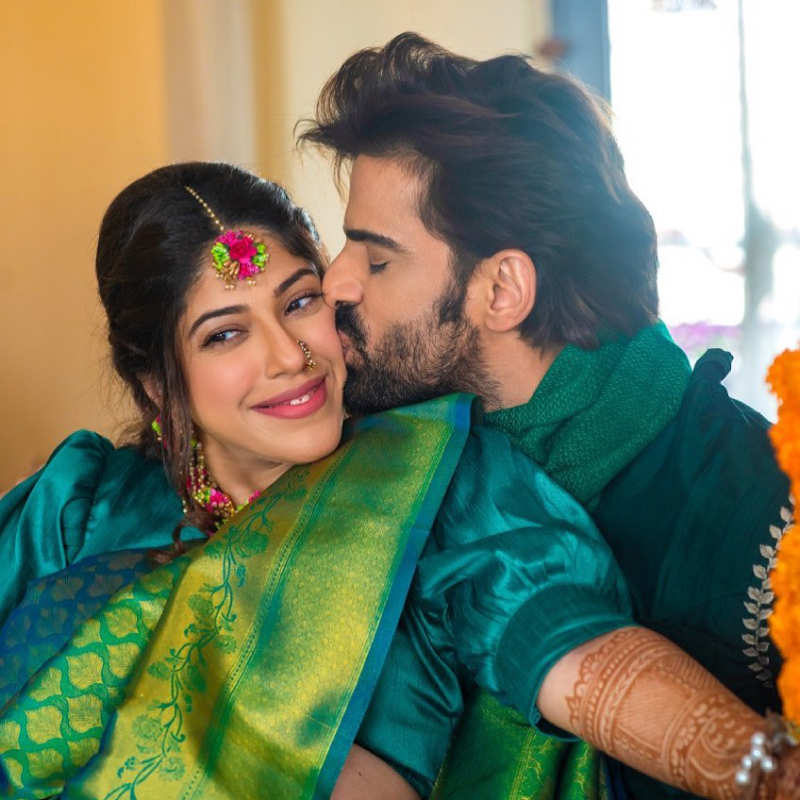 Unmissable pictures from mommy-to-be Aditi Shirwaikar Malik's baby shower ceremony