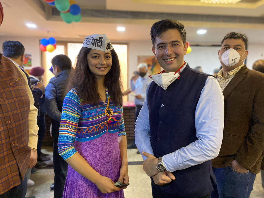 Former Miss India Mansi Sehgal makes foray into politics, joins AAP