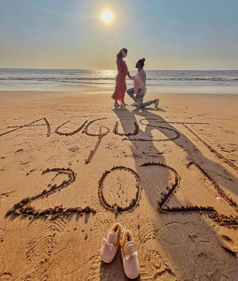 Kishwer Merchant and Suyyash Rai announce first pregnancy with a charming post