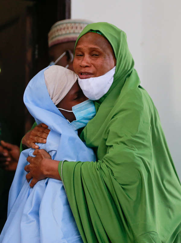 Almost 300 kidnapped schoolgirls freed in Nigeria