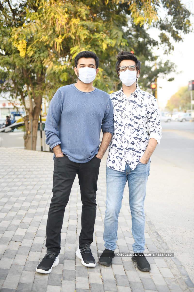 Sachin-Jigar visit Ahmedabad for a performance