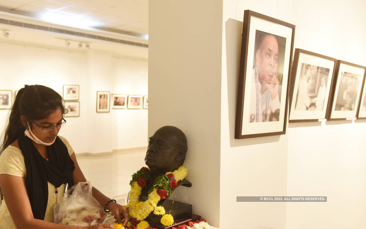 PV Narasimha Rao's photo exhibition