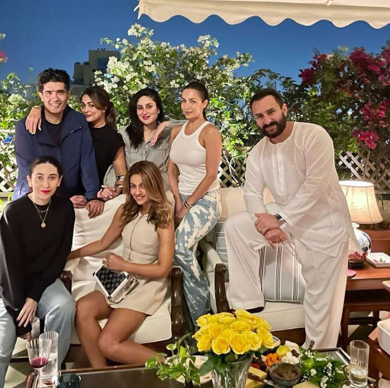 New parents Kareena Kapoor and Saif Ali Khan host 'Lovely Evening' for their BFFs