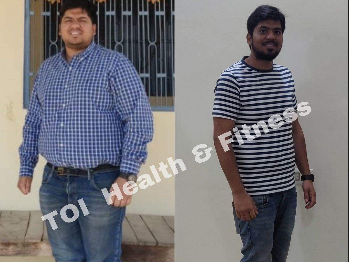 """Weight loss story: """"Boiled eggs and salads helped me lose 37 kilos in less than a year""""    The Times of India"""
