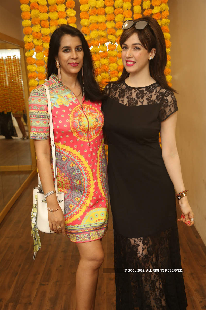 Actress Upasana attends the launch of a tattoo shop