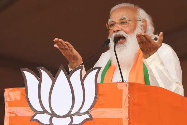 PM Modi holds mega rally in Kolkata