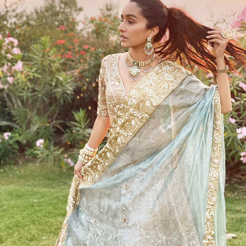 Shraddha Kapoor looks no less than a princess in these beautiful pictures from her cousin's wedding